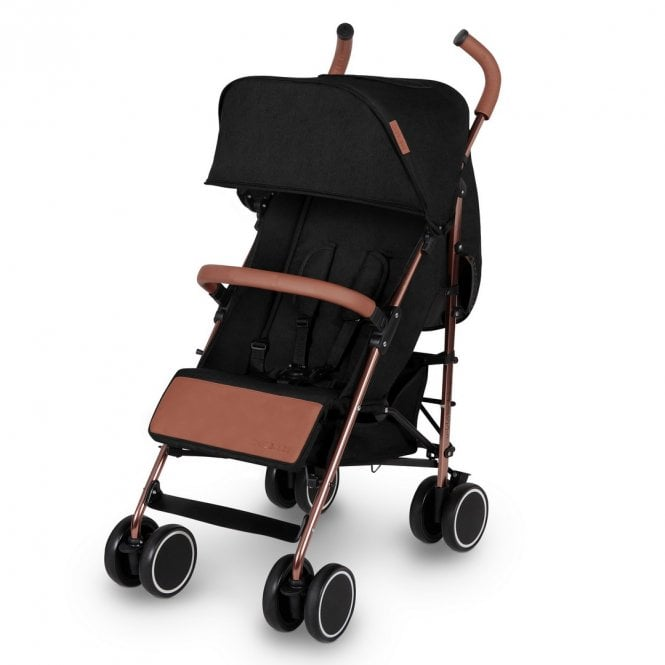 Discovery Pushchair - Black On Rose Gold