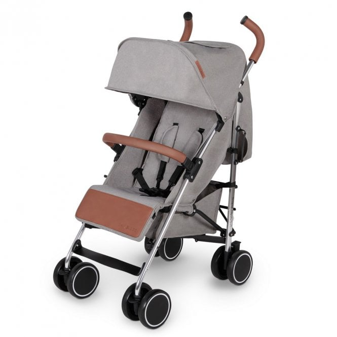 Discovery Pushchair - Grey On Silver