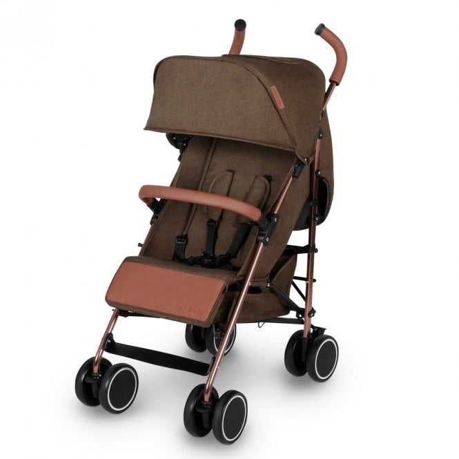 Discovery Pushchair - Khaki On Rose Gold