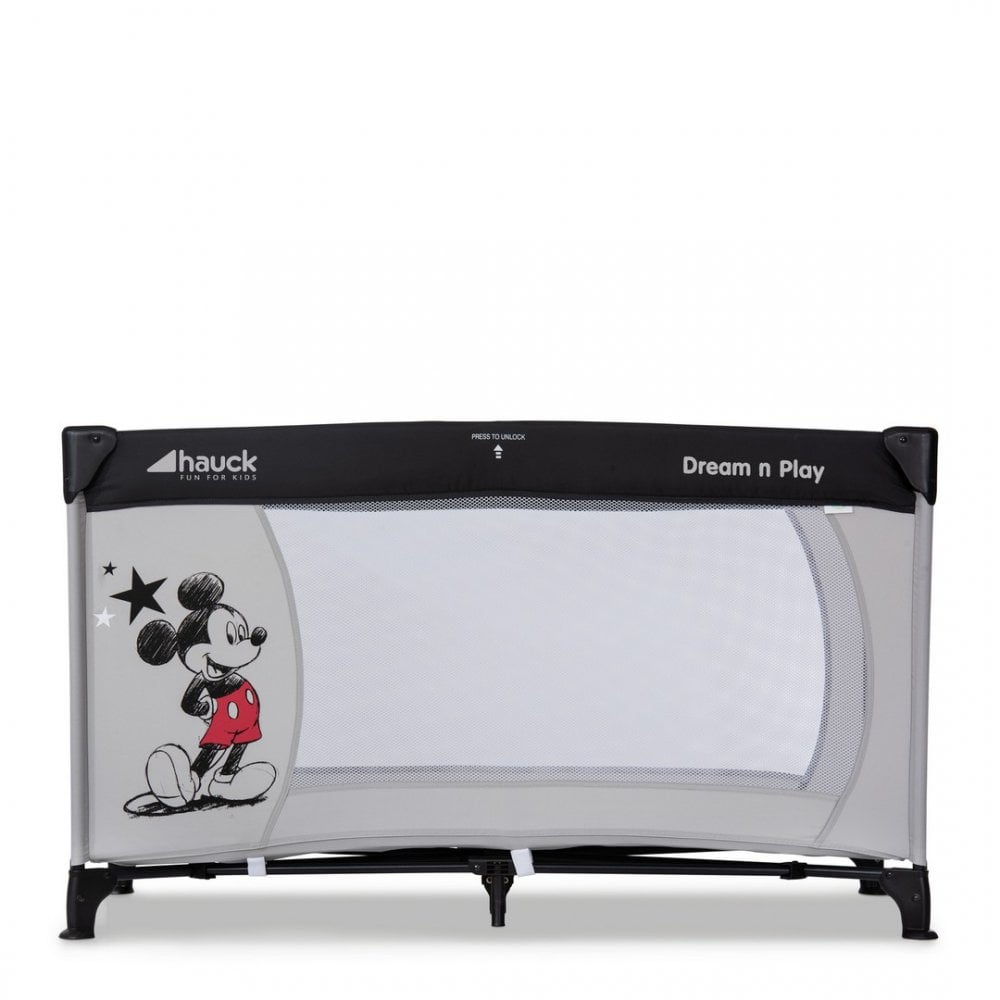 Hauck Disney Dream N Play Travel Cot Mickey Stars