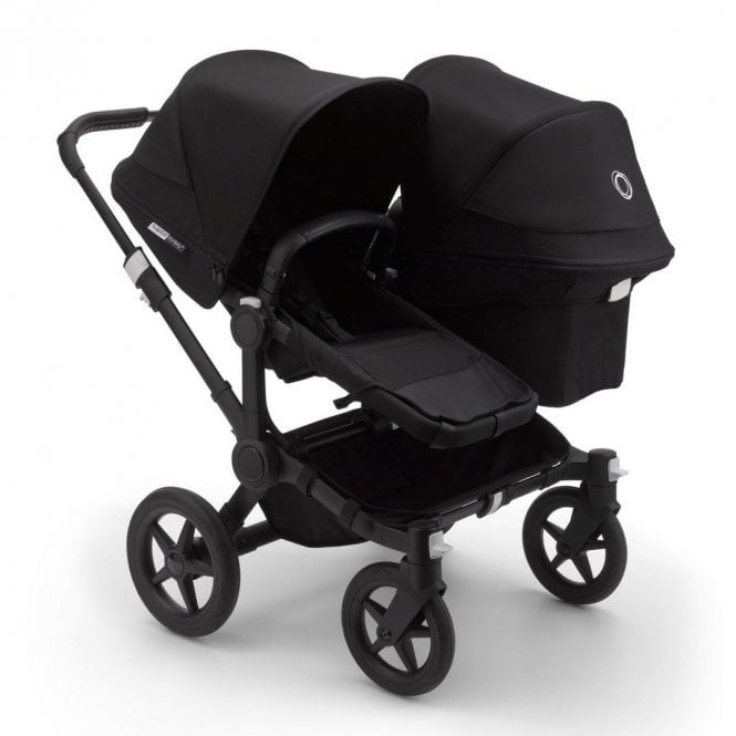 Donkey 3 Duo Pushchair - Black / Black
