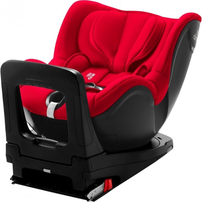 DualFix i-Size Car Seat - Fire Red