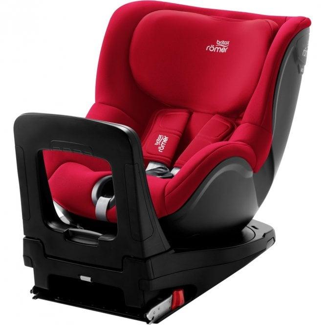 DualFix M i-Size Car Seat - Fire Red