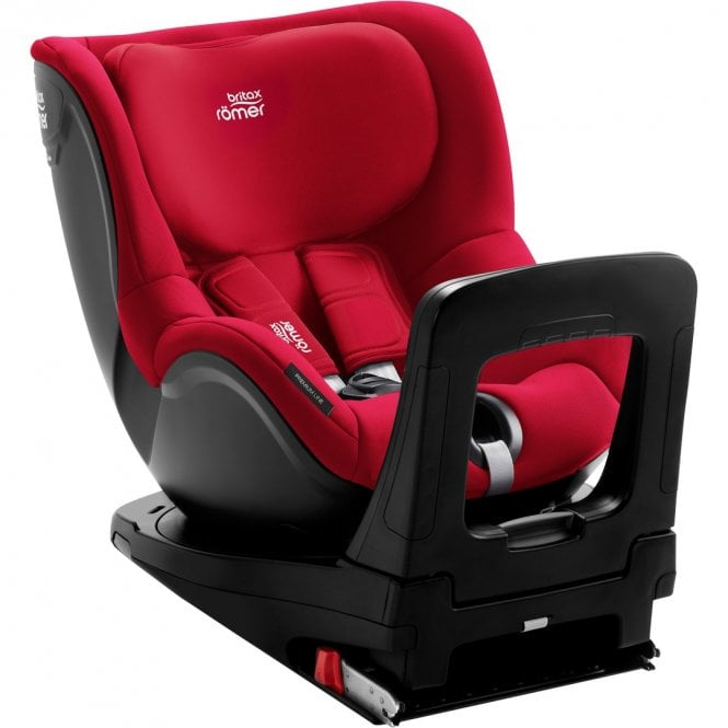 DualFix M i-Size Car Seat - Fire Red