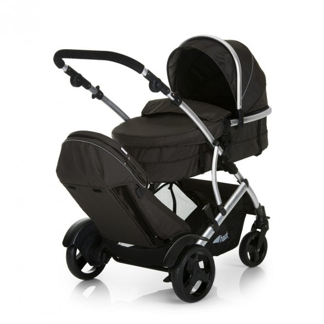 Duett 2 Tandem Pushchair - Black