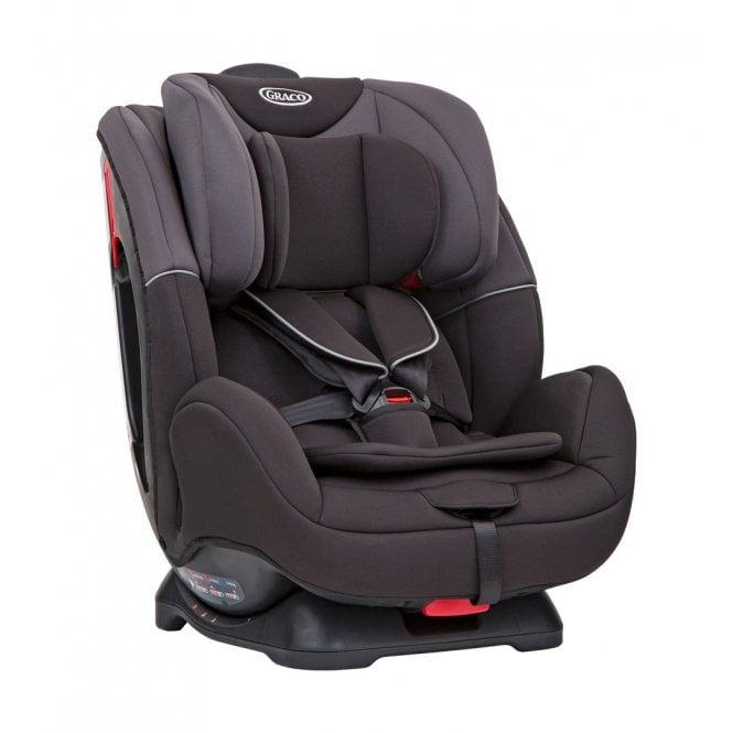 Enhance Group 0+ 1 2 Car Seat - Black / Grey