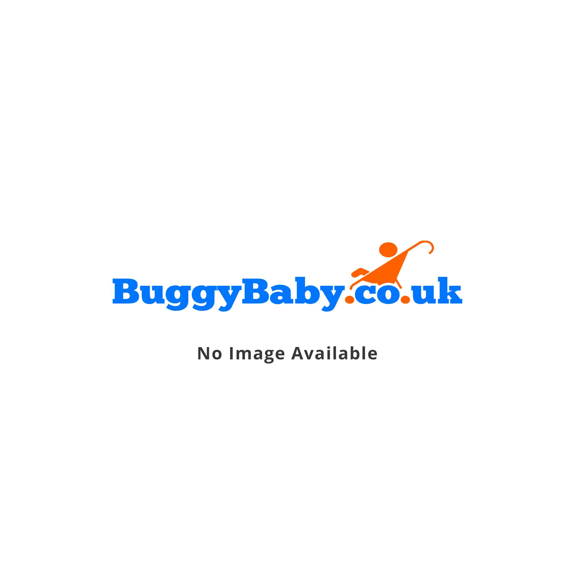 Eva Drop Side Cot Bed - White