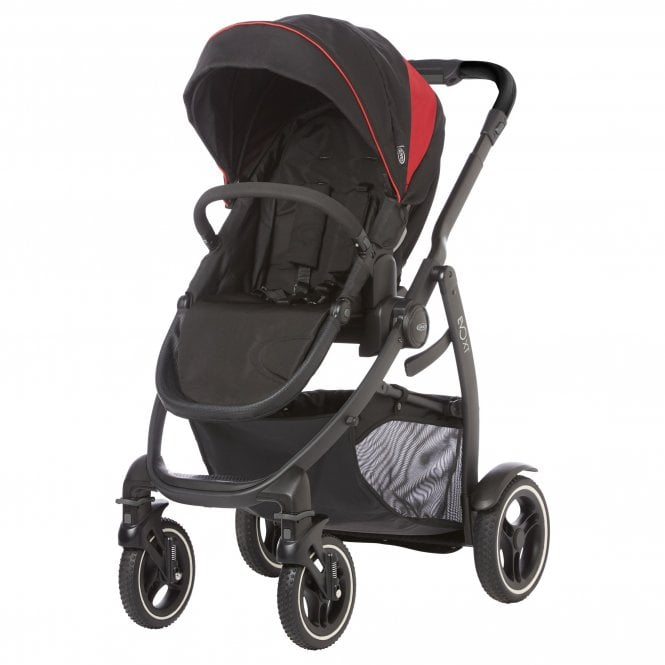 Evo XT Pushchair - Black / Red