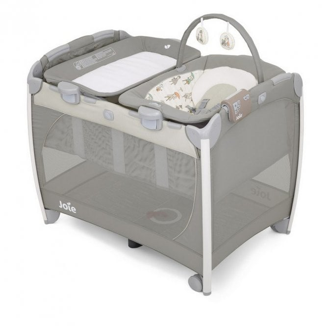 Excursion Change & Bounce Travel Cot - In The Rain