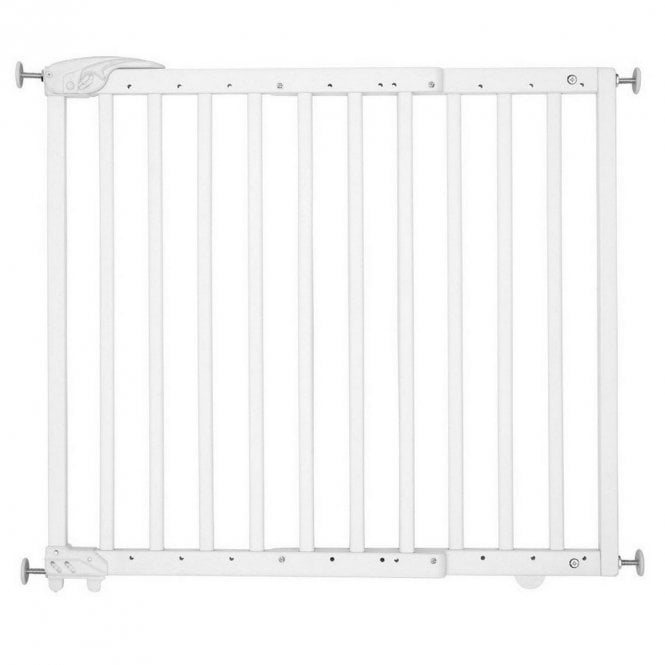 Extendable Safety Gate - Deco Pop White