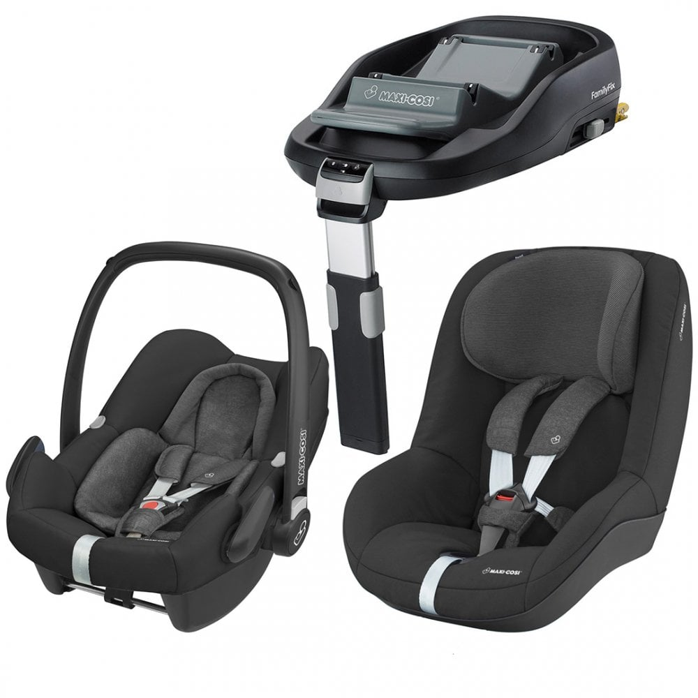 maxi cosi rock car seat pearl car seat familyfix base buggybaby. Black Bedroom Furniture Sets. Home Design Ideas