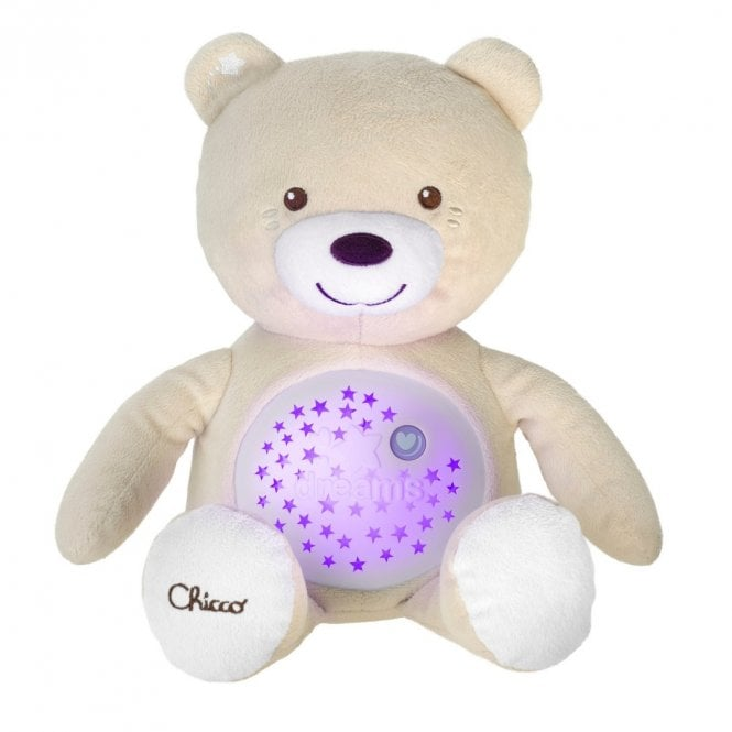 First Dreams Baby Bear Night Projector - Neutral