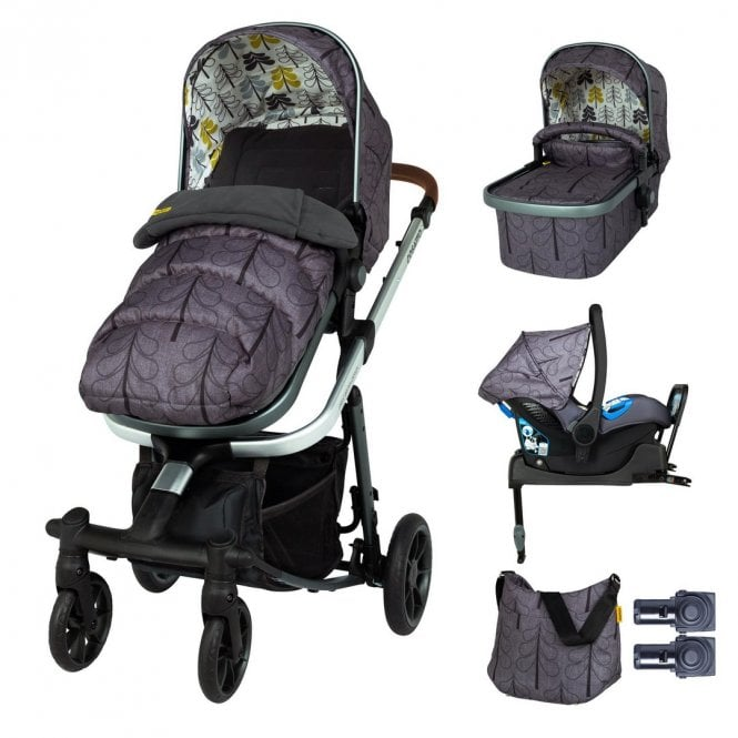 Giggle Quad Whole 9 Yards ISOfix Bundle - Fika Forest