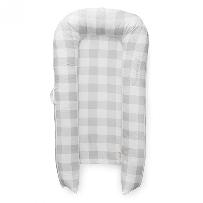Grand Baby Pod, 9-36 Months - Buffalo Plaid - Natural Buffalo