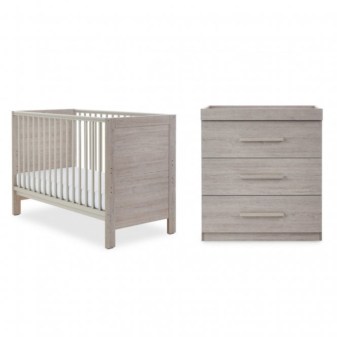 Grantham Mini 2 Piece Furniture Set - Grey Oak