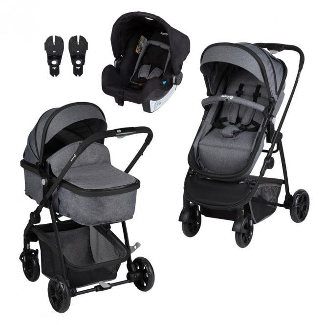 Hello 3 In 1 Travel System - Black Chic