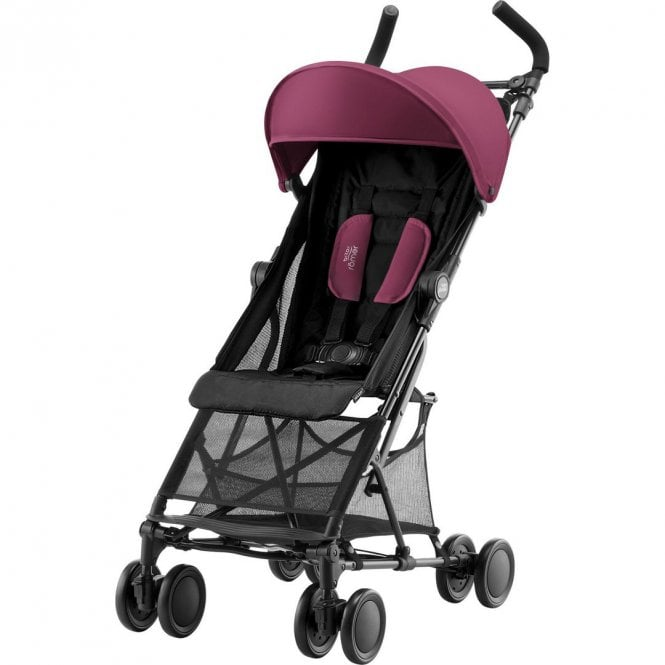 Holiday 2 Pushchair - Wine Red