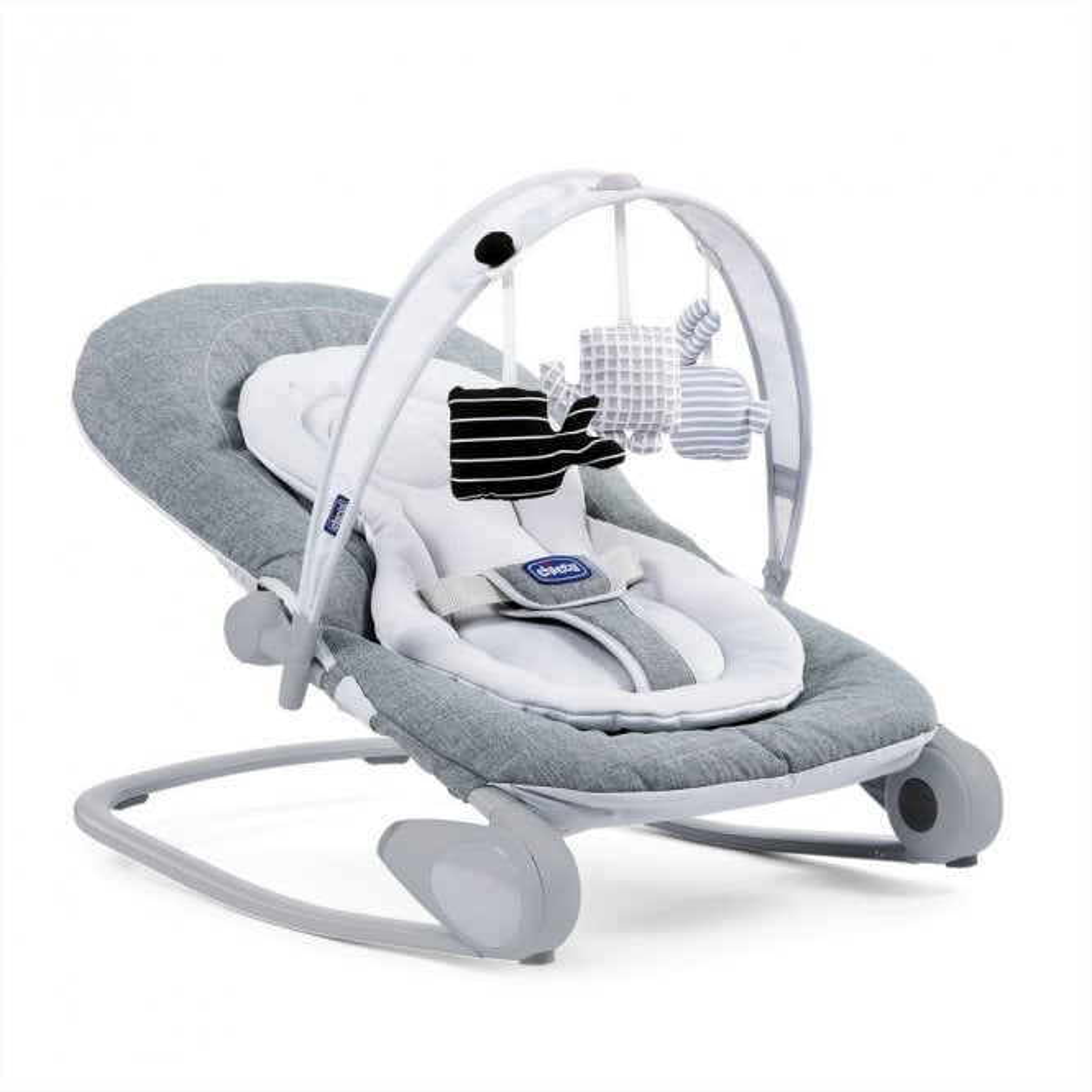 Hoopla Baby Bouncer - Titanium