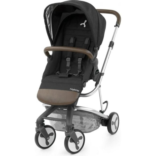 Hybrid City Pushchair - Phantom Black