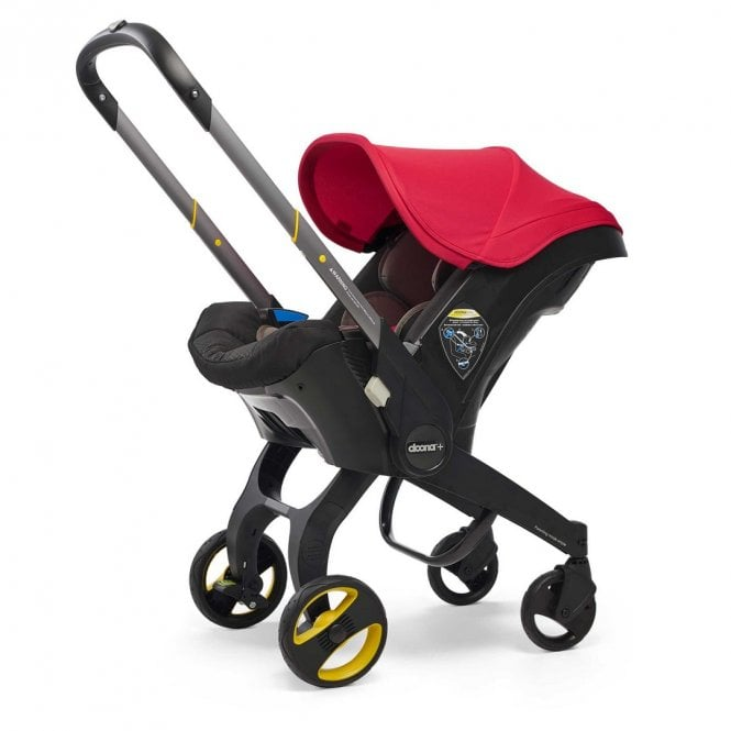 Infant Car Seat Stroller - Flame Red