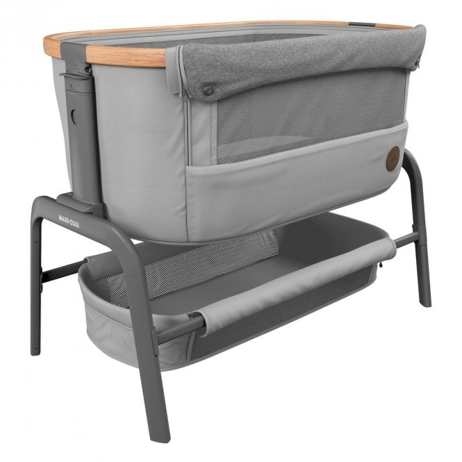 Iora Co-Sleeper Cot - Essential Grey