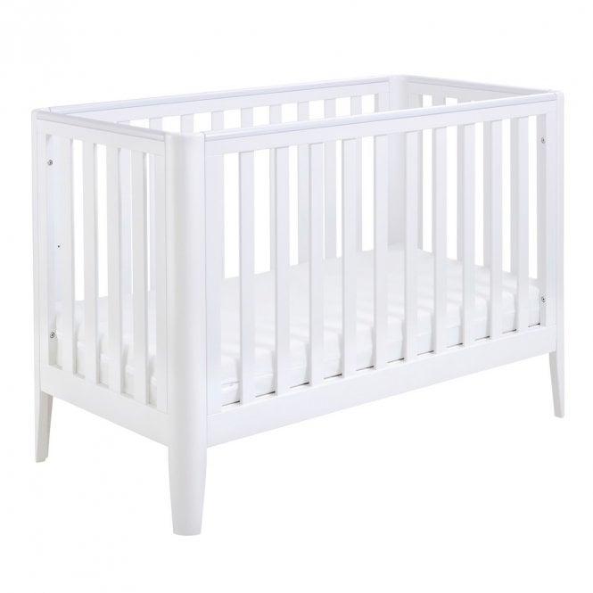 Iris Cot Bed - White