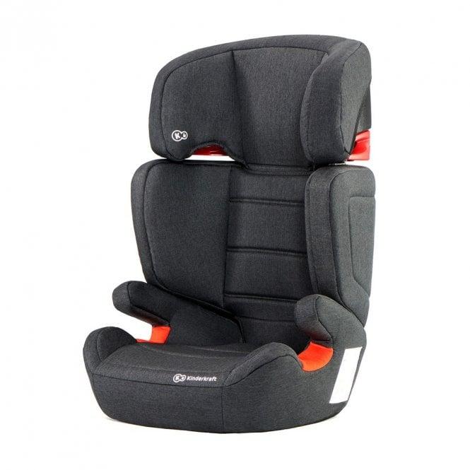 JuniorFix ISOfix Car Seat - Black