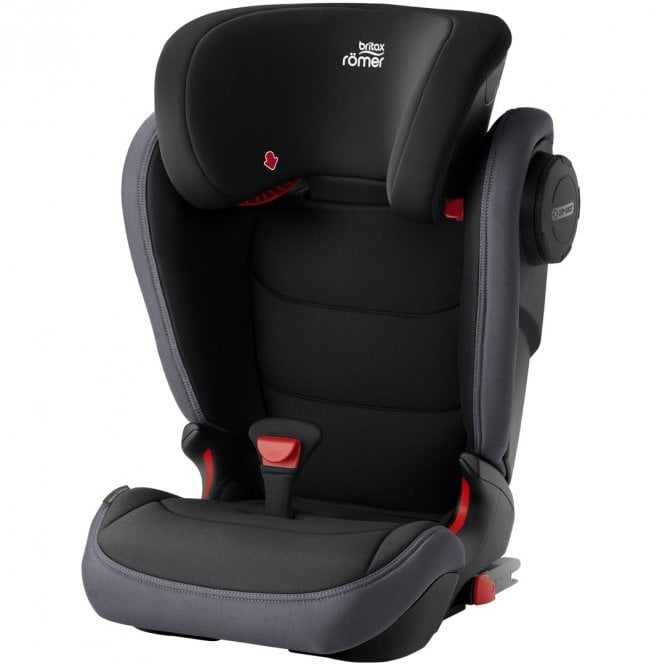 Kidfix III M Group 2 / 3 Car Seat - Black Ash