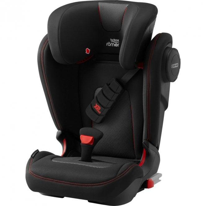 Kidfix III S Cool Flow Car Seat - Black