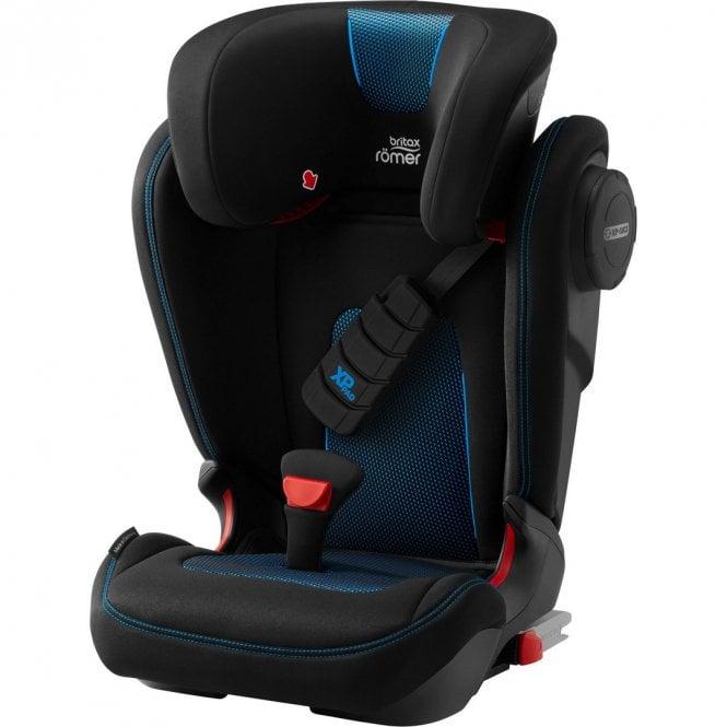 Kidfix III S Cool Flow Car Seat - Blue