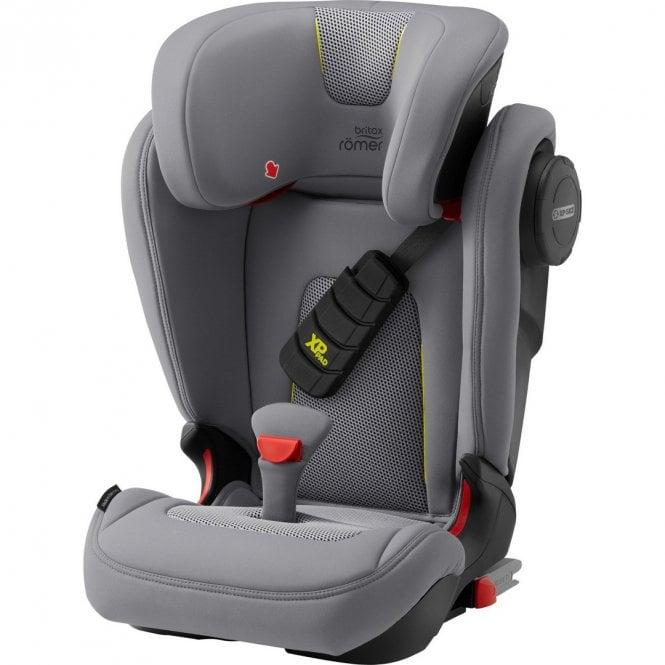 Kidfix III S Cool Flow Car Seat - Silver