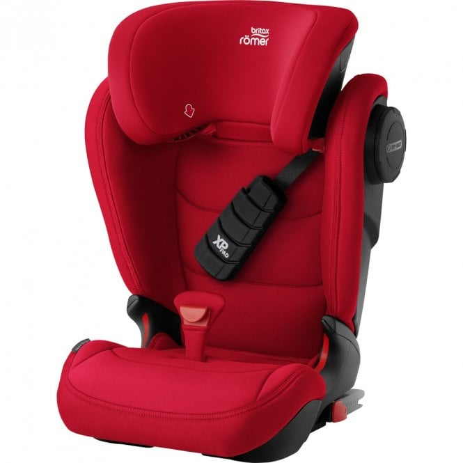 Kidfix III S Group 2 / 3 Car Seat - Fire Red