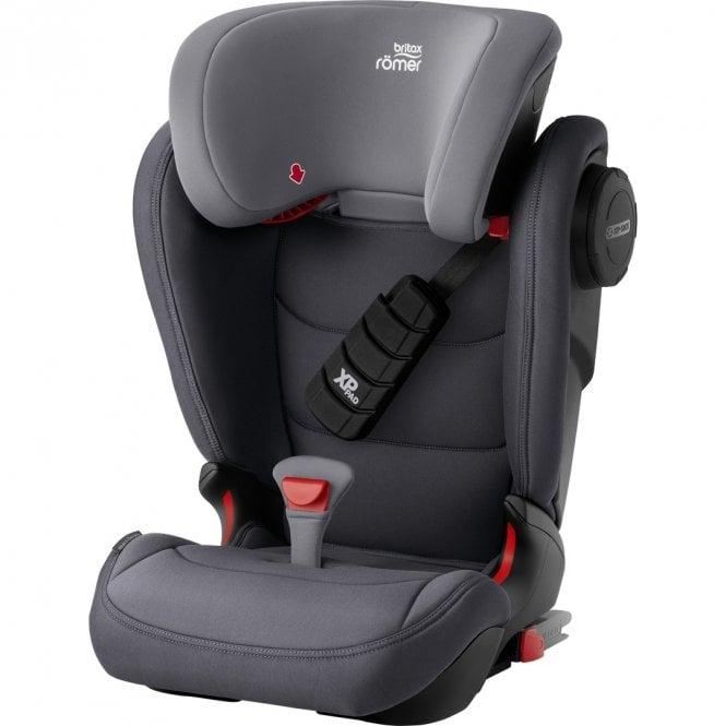 Kidfix III S Group 2 / 3 Car Seat - Storm Grey