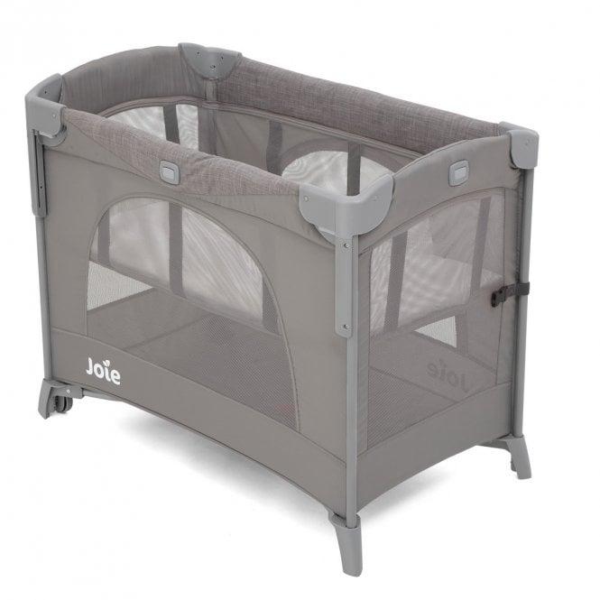 Kubbie Sleep Compact Travel Cot - Foggy Grey