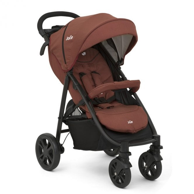 Litetrax 4 Wheel Pushchair - Brick Red