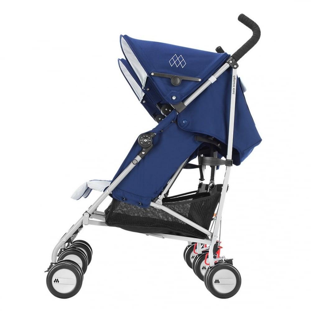 Buy Maclaren Twin Triumph Pushchair | Double Pushchair ...