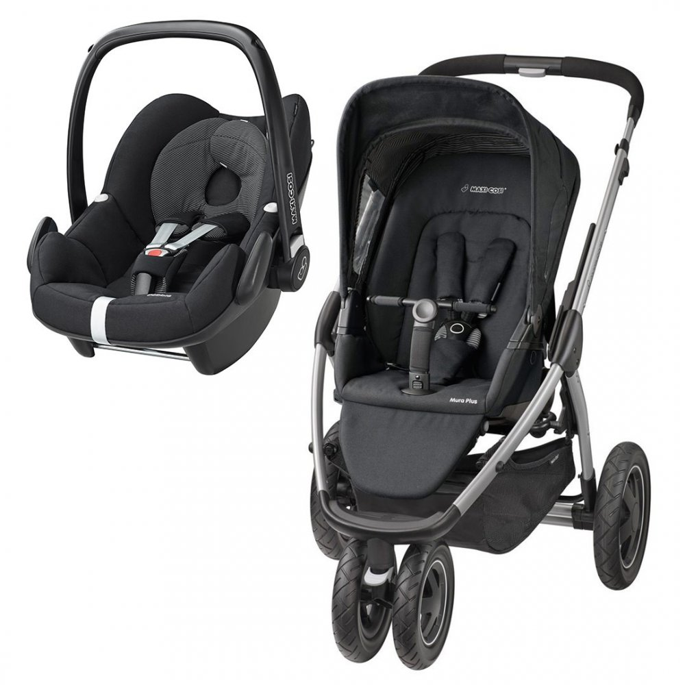 buy maxi cosi mura plus 3 travel system pebble from. Black Bedroom Furniture Sets. Home Design Ideas