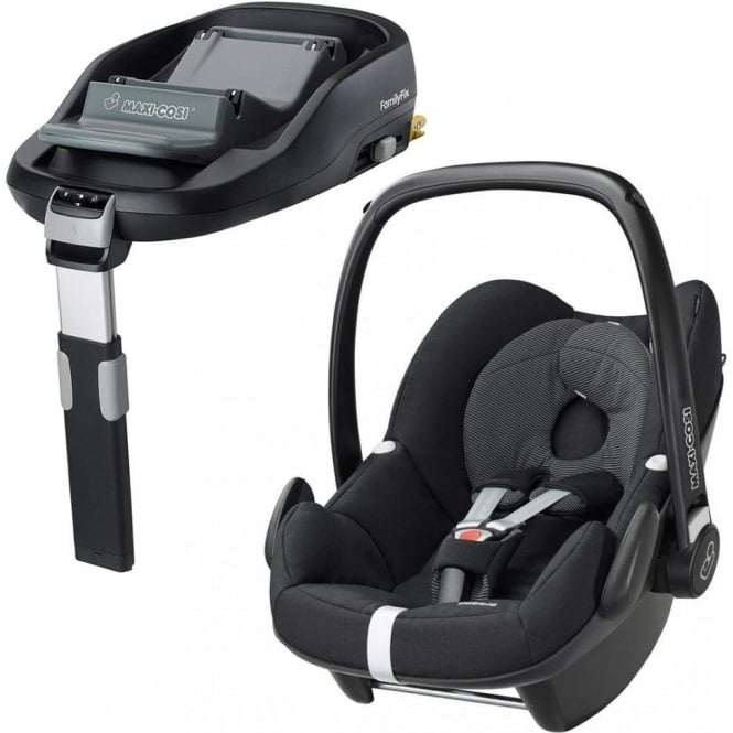 Pebble Car Seat + FamilyFix Base