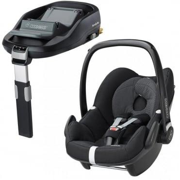 Pebble Car Seat + FamilyFix Base
