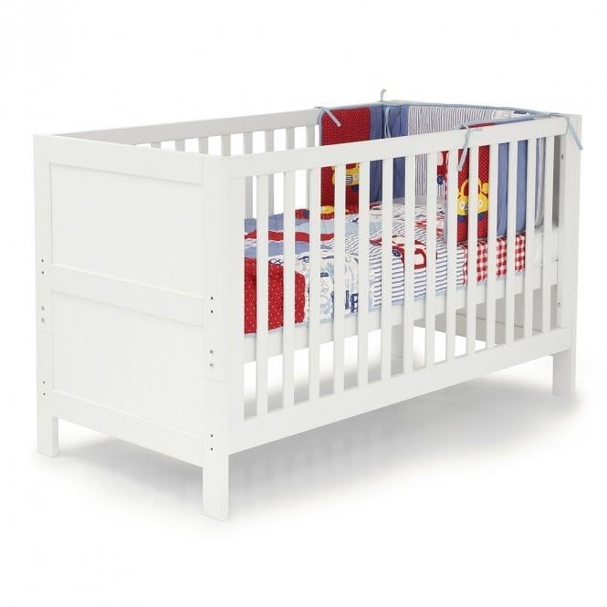 Monte Carlo Cot Bed - White