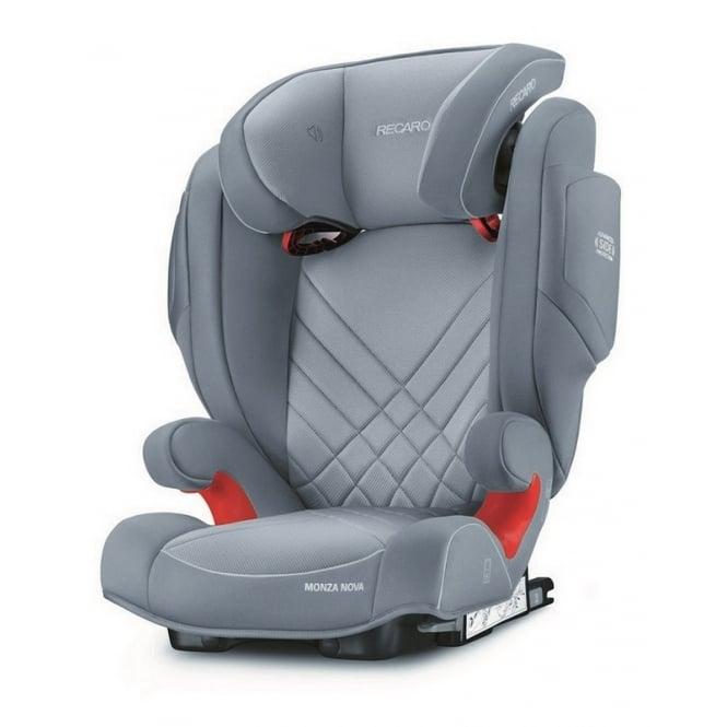 Monza Nova 2 Seatfix Car Seat - Aluminium Grey