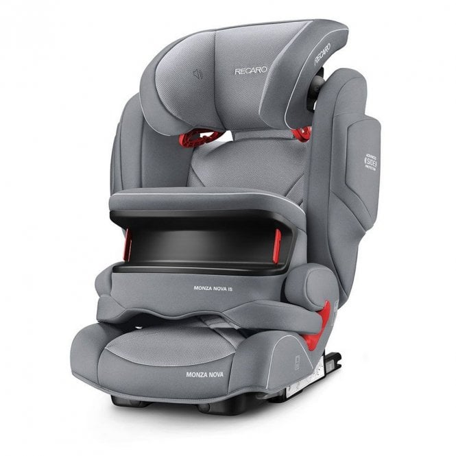 Monza Nova IS Seatfix Car Seat - Aluminium Grey