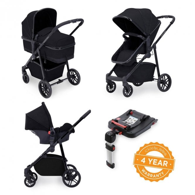 Moon 3 In 1 Travel System With Galaxy Car Seat + ISOfix Base