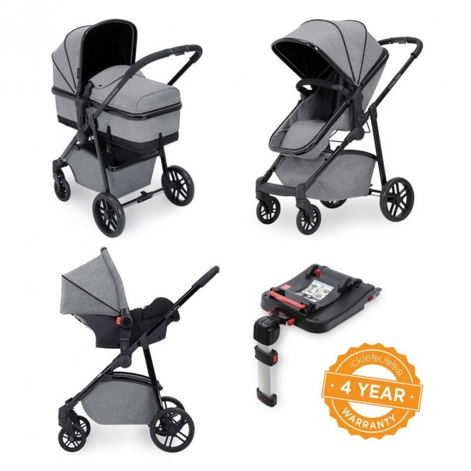 Moon 3 in 1 Travel System with ISOfix Base