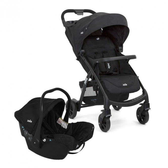 Muze Travel System With Juva 0+ Car Seat - Coal