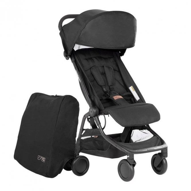 Nano V3 Pushchair - Black