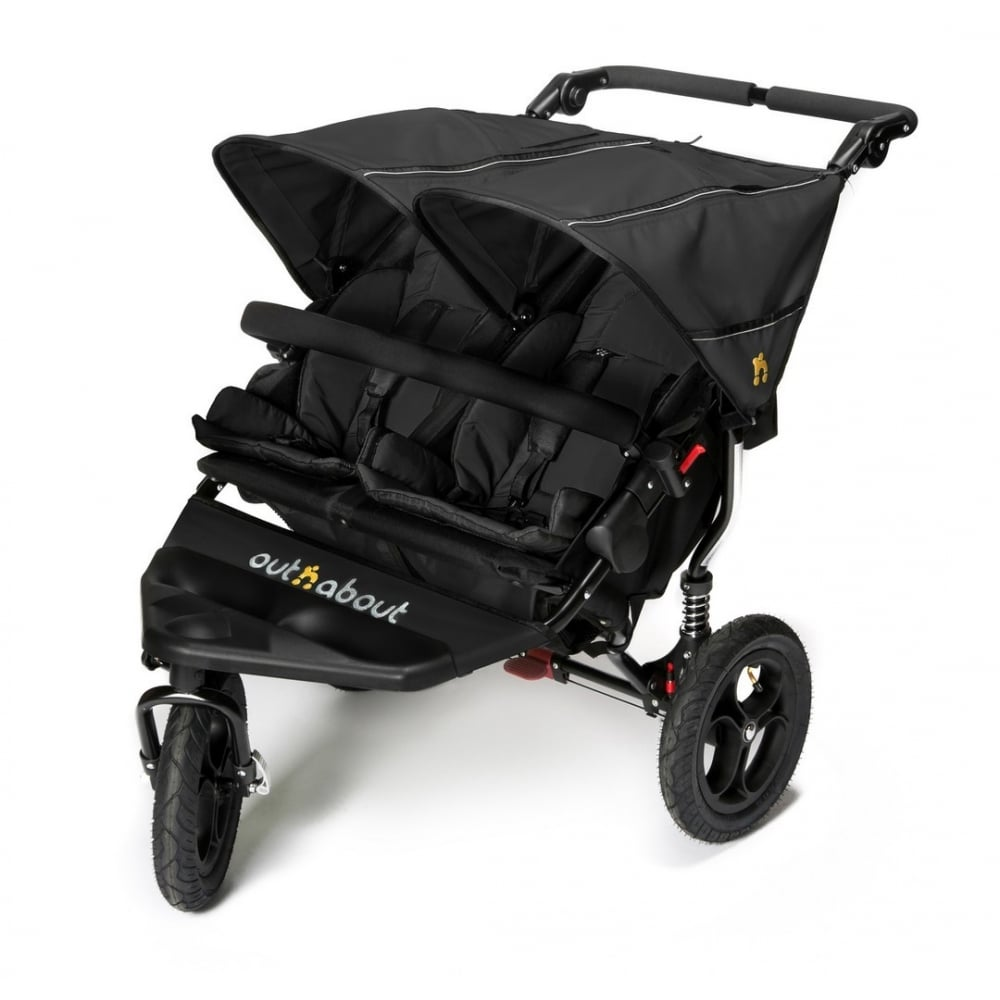 out n about nipper double pushchair double pushchair. Black Bedroom Furniture Sets. Home Design Ideas