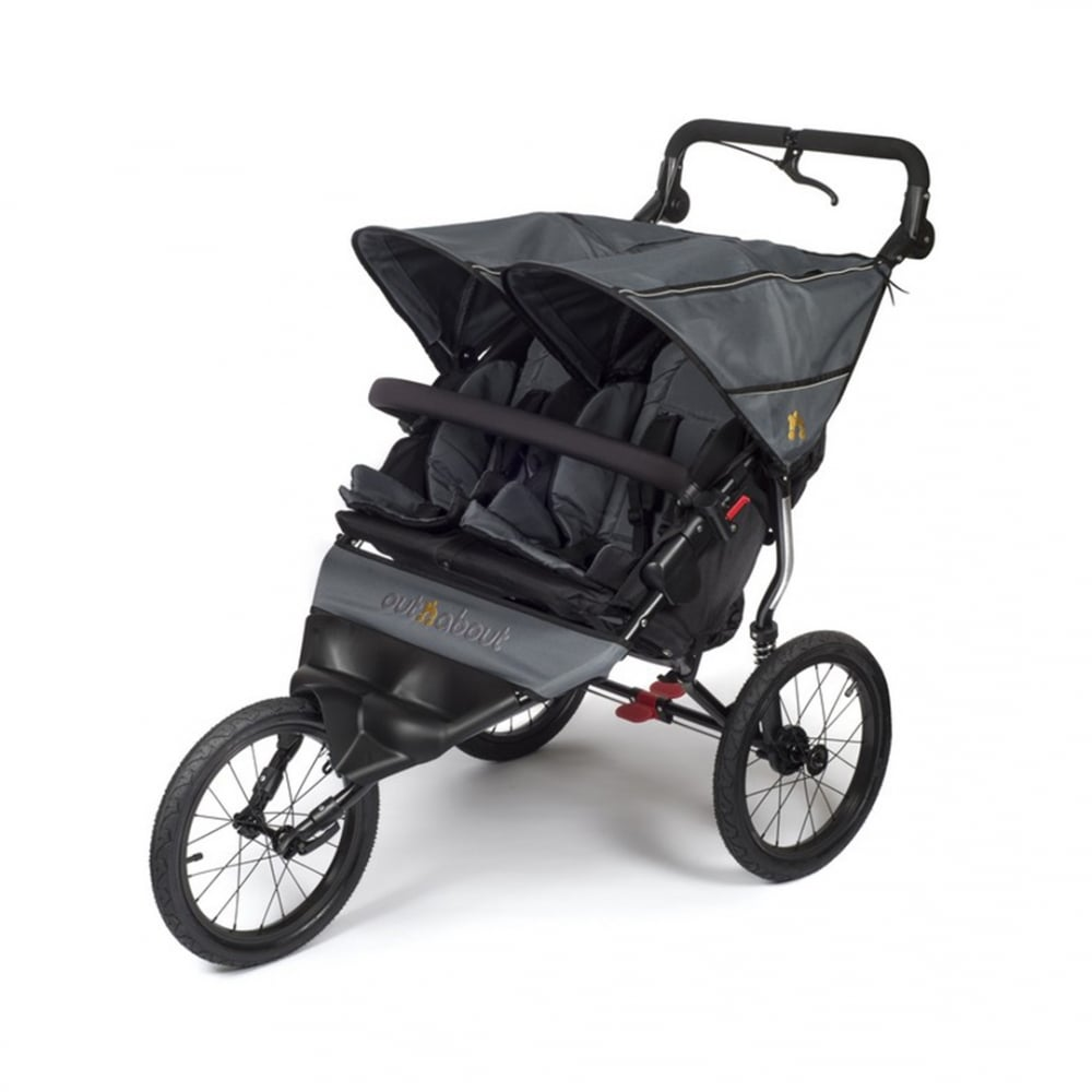 Out N About Nipper Sport Double Pushchair Buggybaby