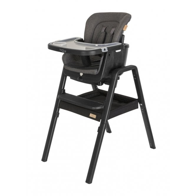 Nova Evolutionary Highchair - Black / Black
