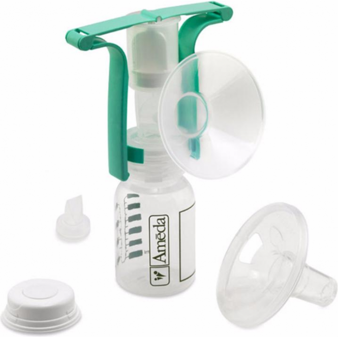 One Handed Manual Breast Pump
